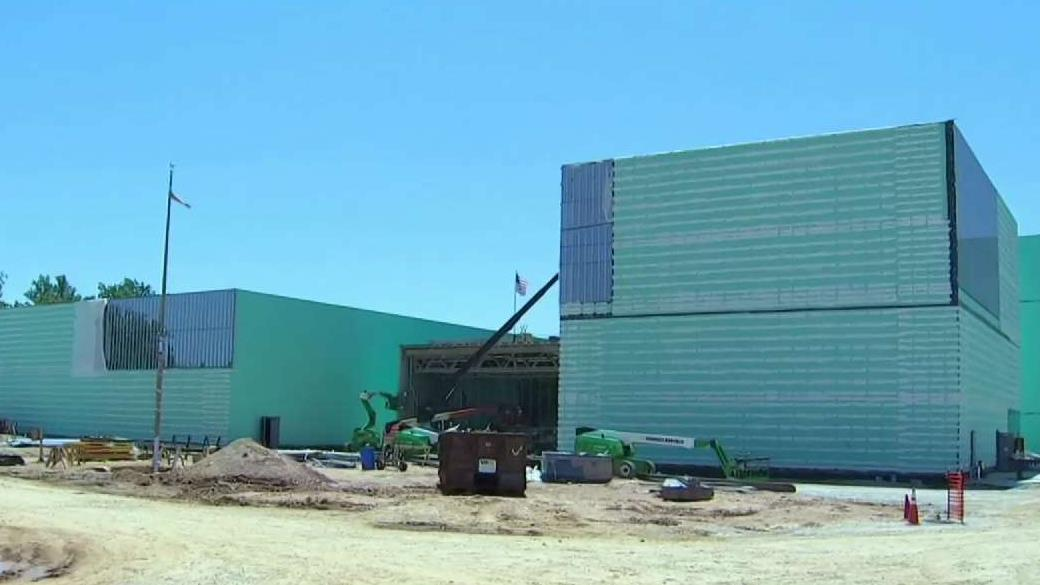 A Look at Progress on the US Army Museum at Fort Belvoir | NBC Washington