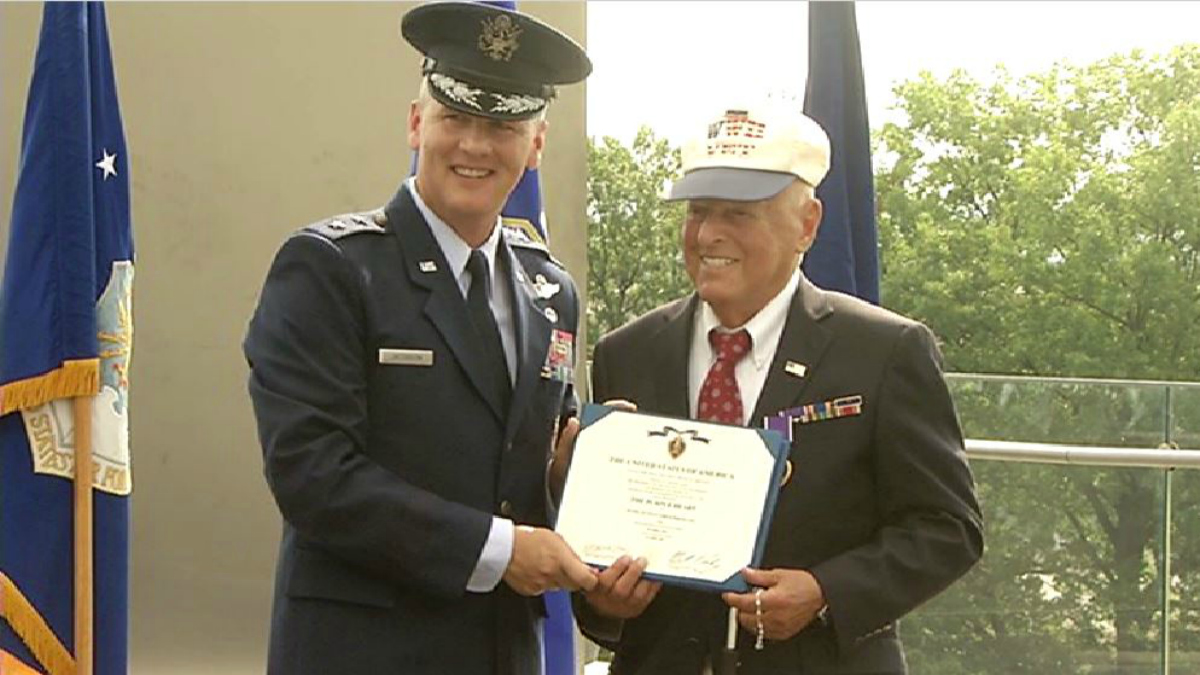 Maryland Man Awarded Purple Heart After 72 Years