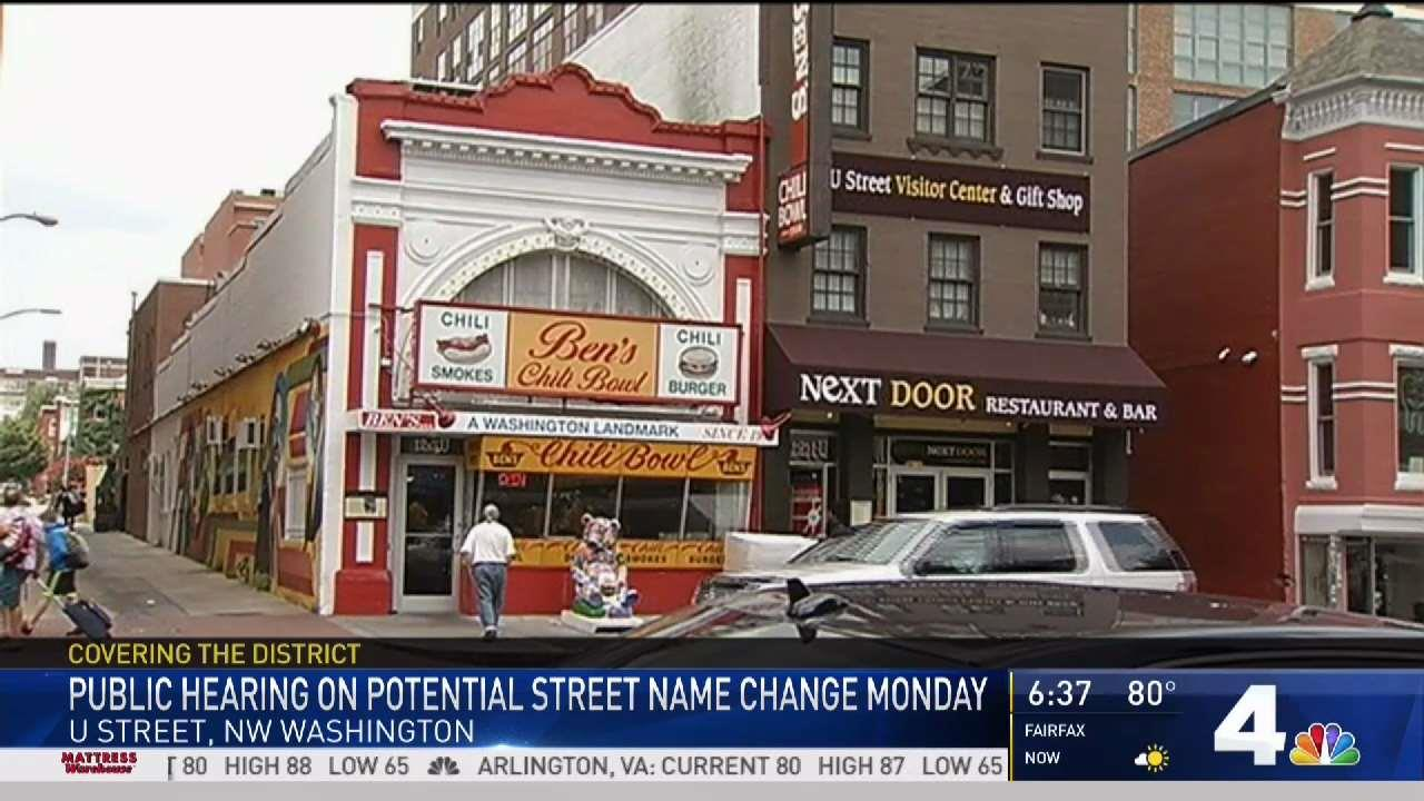 Street Could Be Renamed for Ben's Chili Bowl