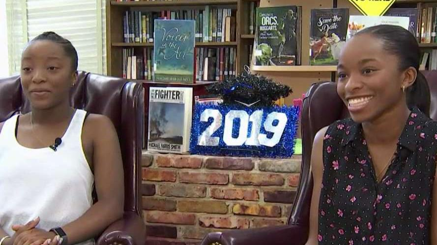 Twins Named Co-Valedictorians of Bowie High School