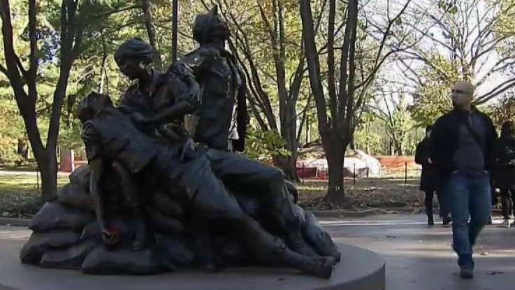 Vietnam Women's Memorial Honored on 25th Anniversary | NBC Washington