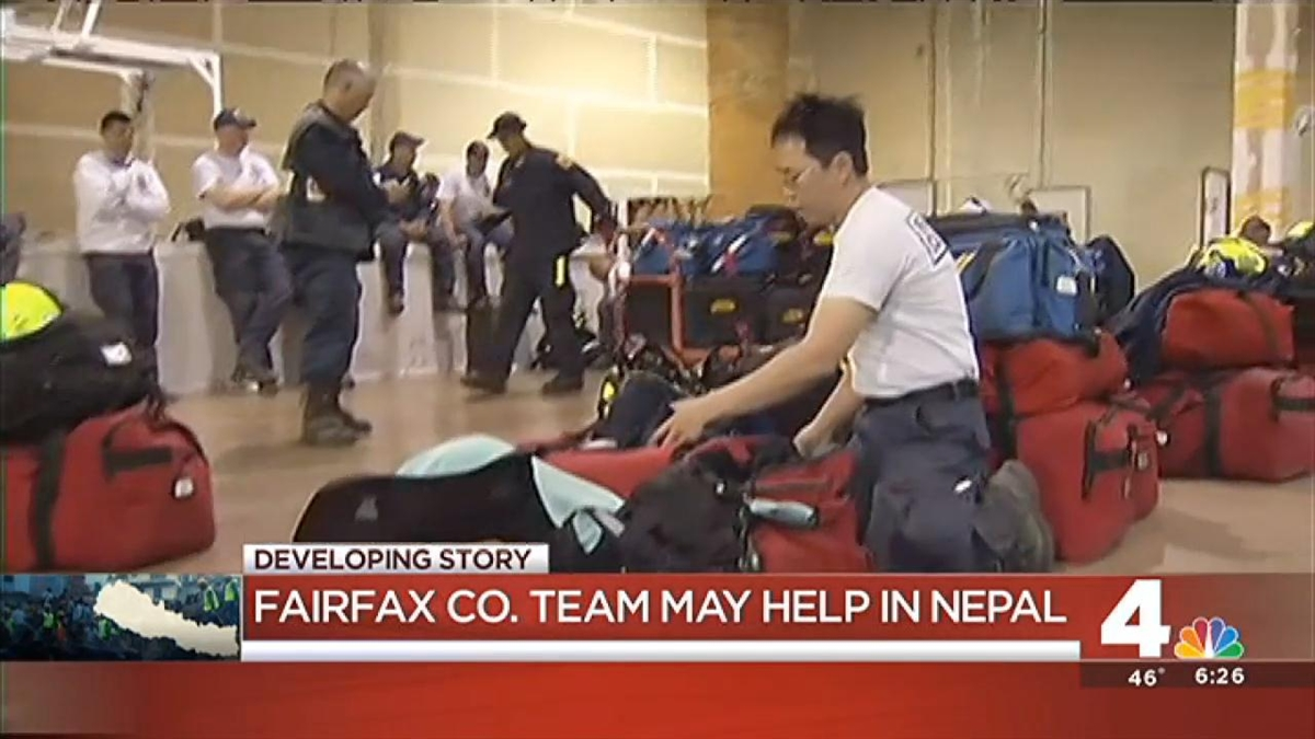 Va. Rescue Team Ready to Search for Quake Survivors