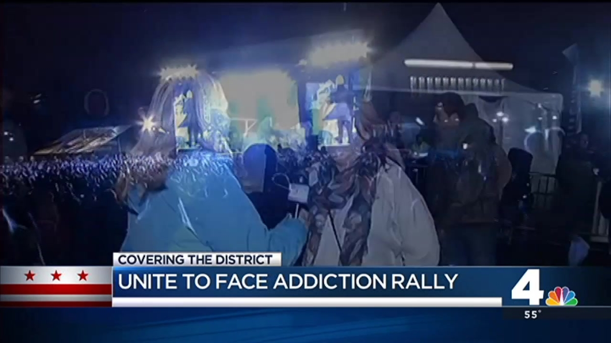 National Mall Concert Aims to End Addiction