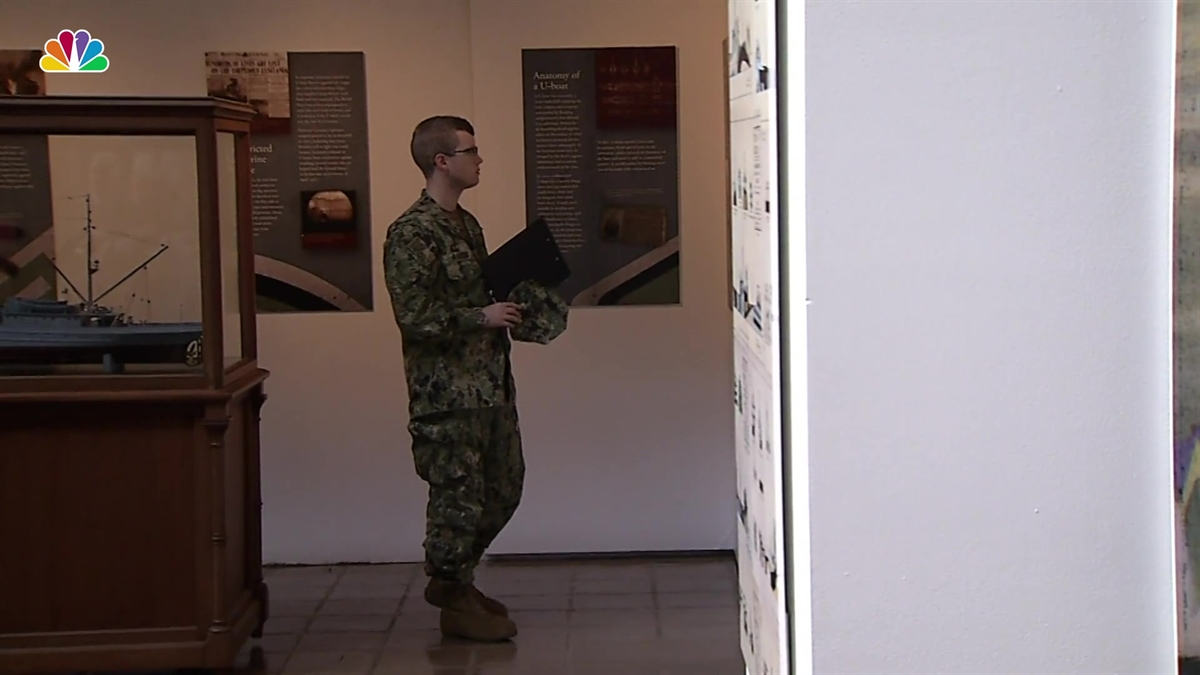 Exhibit Features Artifacts From Wreckage of WWI Naval Ship | NBC Washington