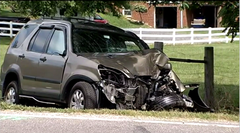 One Dead in Single-Vehicle Crash in Montgomery County