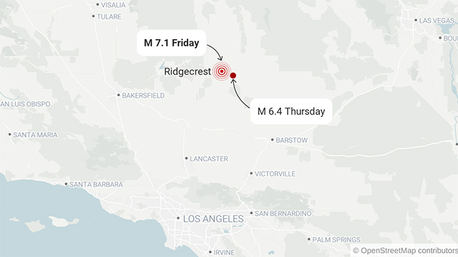 7 1 Magnitude Earthquake Rocks Southern CaliforniaLatest Commentary