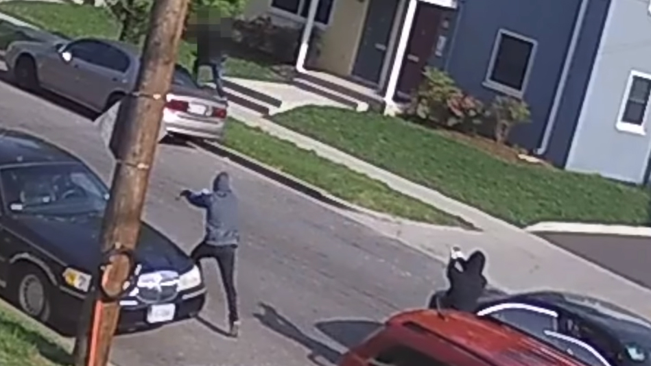 Video Shows Man Running for His Life Before Being Shot in DC